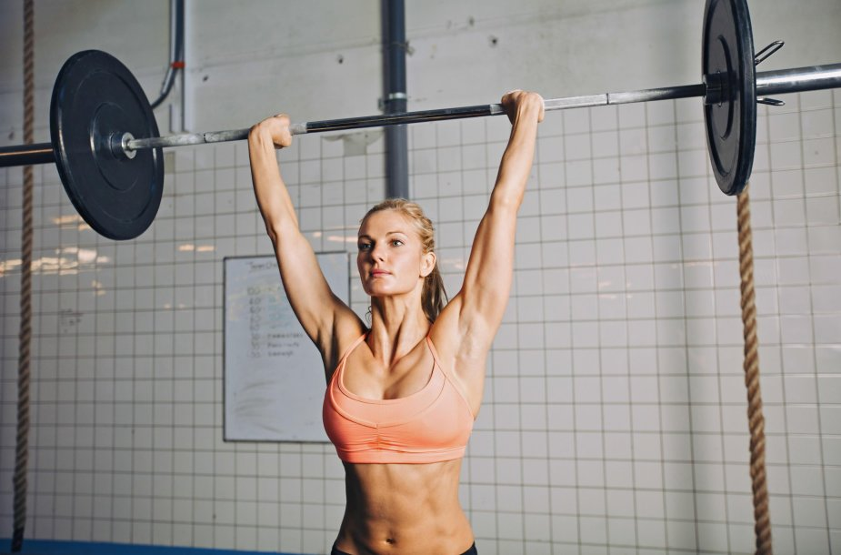 Sportuojanti moteris