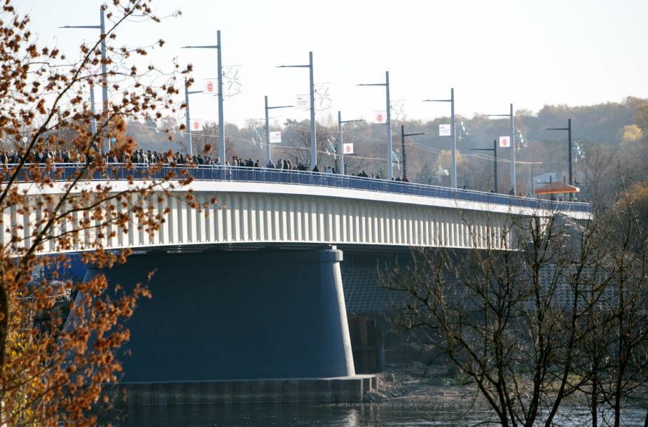Panemunės tilto atidarymas