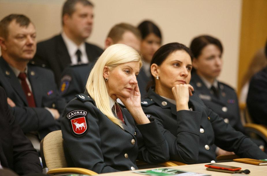 Policijos ataskaitinis susitikimas