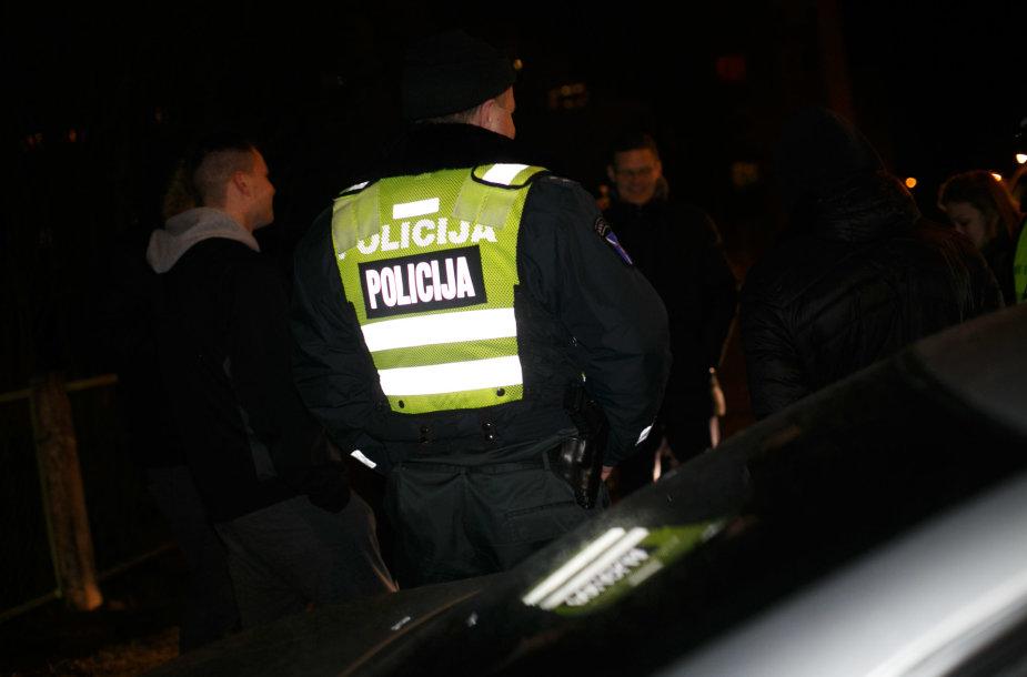 Policijos reido akimirkos