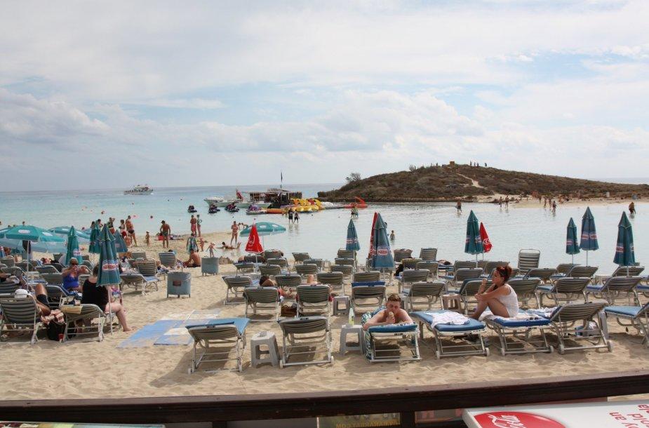 Figos medžio paplūdimys Kipre
