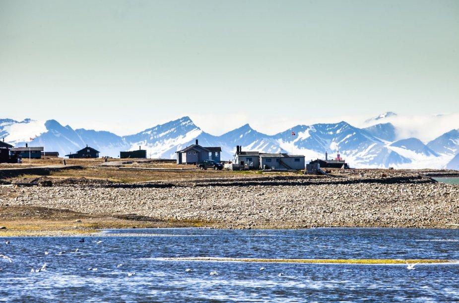 Špicbergenas traukia šalto kraštovaizdžio gerbėjus