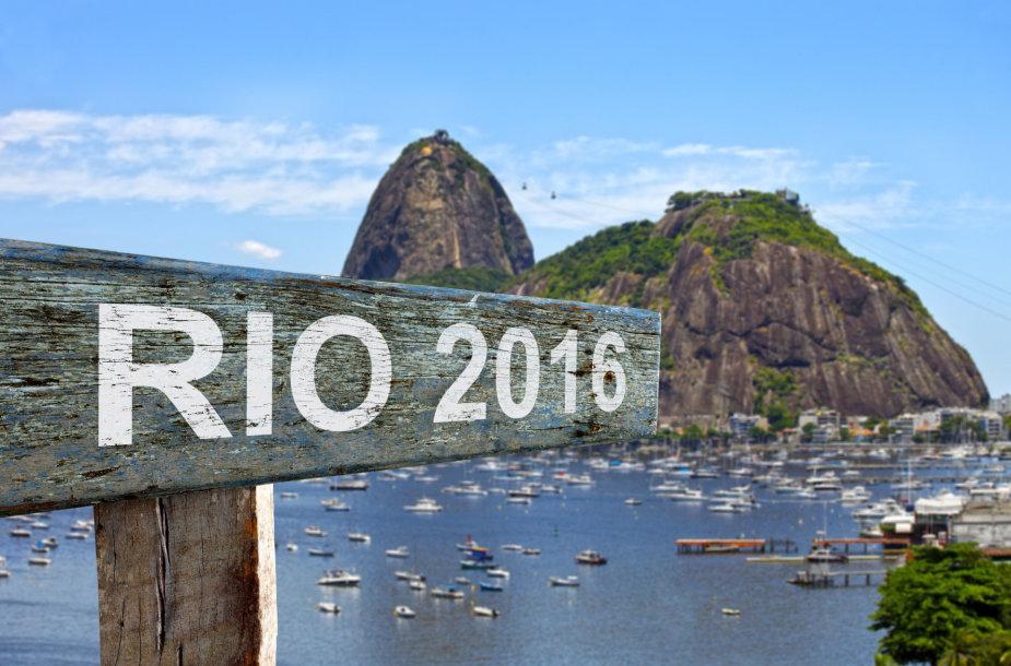 Rio de Žaneiro olimpiada vyks rugpjūtį