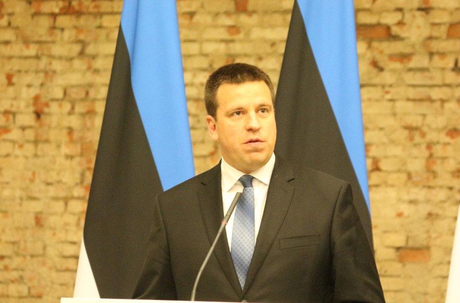 Estijos premjeras Juris Ratas