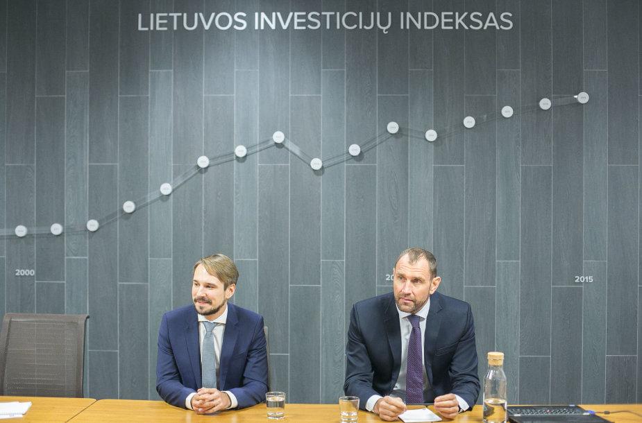 """Spaudos konferencija """"Lietuvos investicijų indeksas. Kur vertėjo investuoti 1996-2015 m."""""""