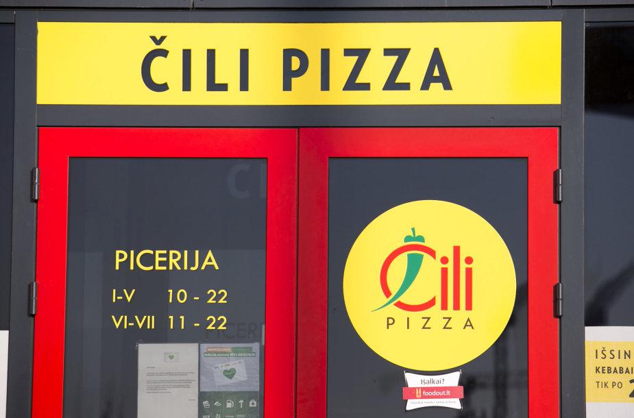 """Čili pizza"""