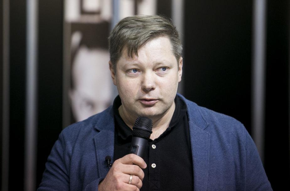 Jurgos Ivanauskaitės premija įteikta rašytojui Rimantui Kmitai