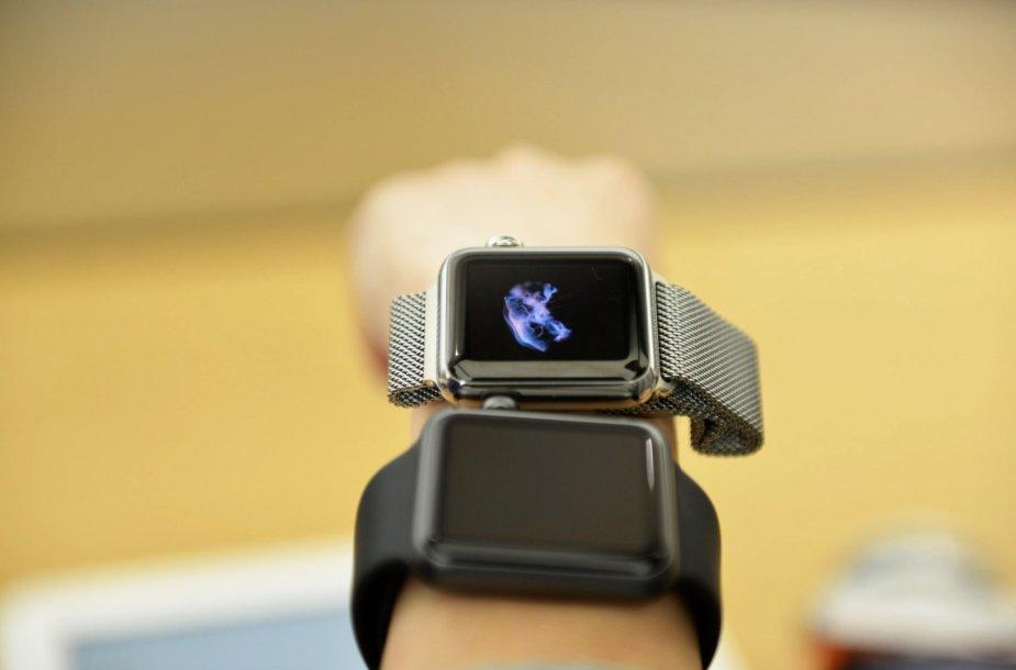 """""""Apple Watch"""" laikrodžiai"""
