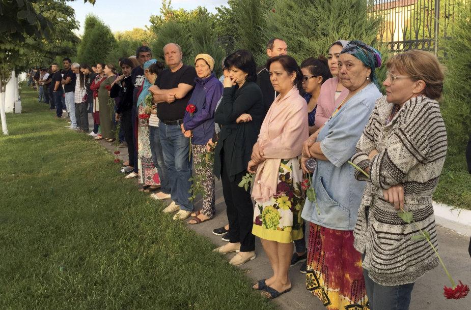 Uzbekistanas gedi Islamo Karimovo