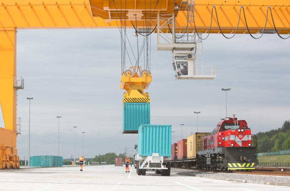 Intermodalinio terminalo atidarymas Vilniuje