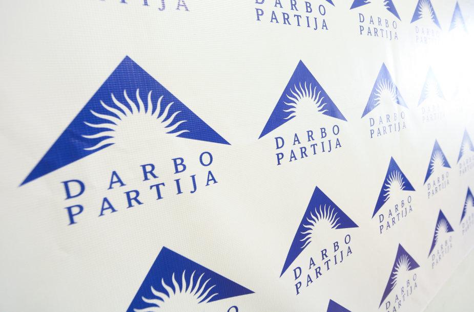 Darbo partijos logotipas
