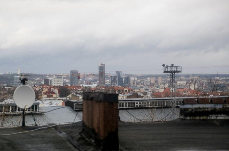 Namas, kuriame gyveno ir vakar slėpėsi Igoris Molotkovas