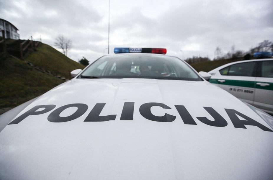 Policijos reidas Geležinio Vilko gatvėje