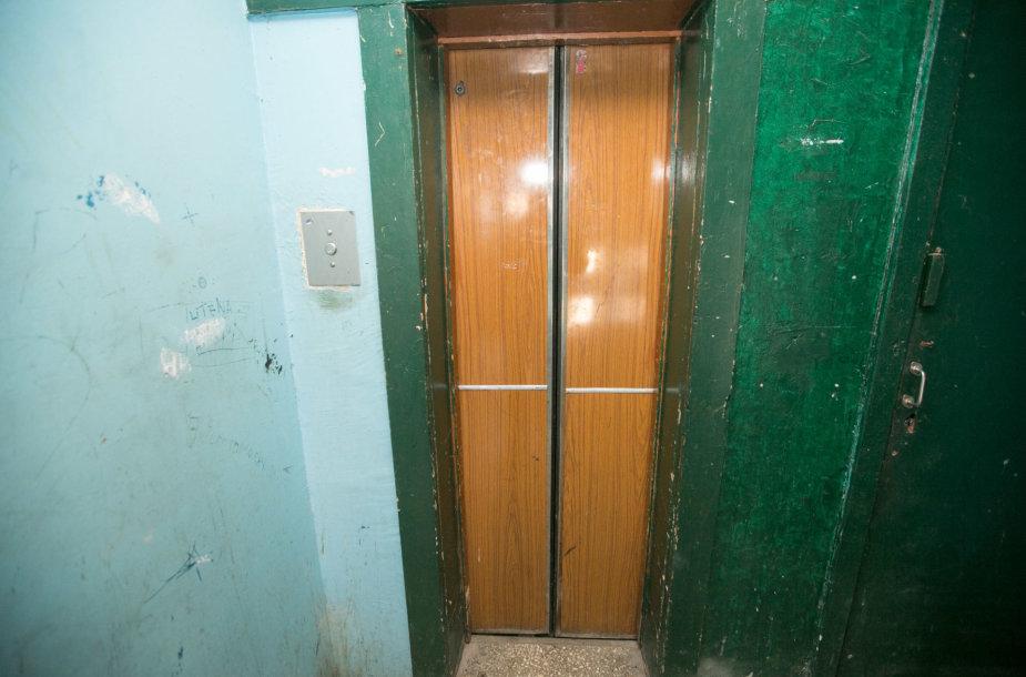Vienas iš seniausių liftų sostinėje