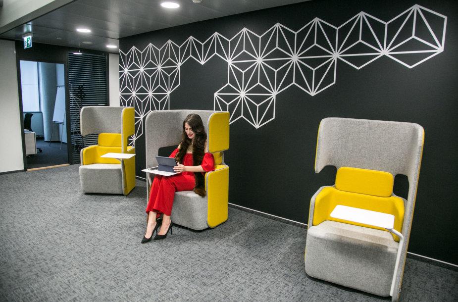 """""""Technopolyje"""" atidarytas """"Delta"""" biurų pastatas"""