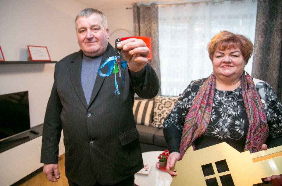 Irena ir Antanas Krakiai