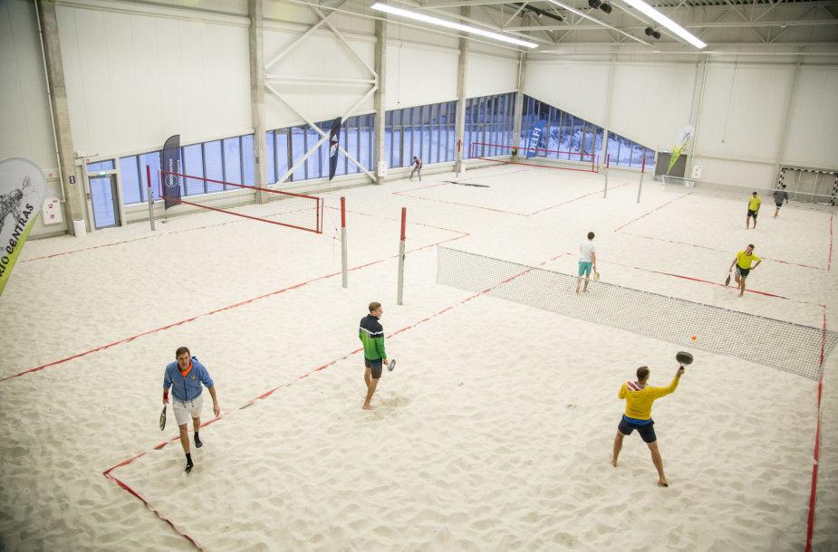 Vilniuje atidarytas naujas sporto kompleksas