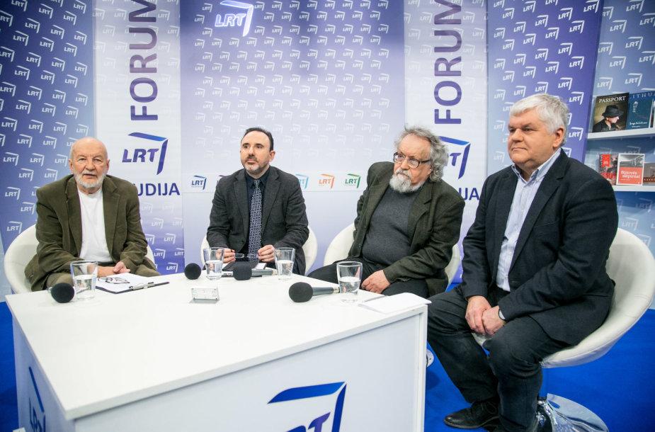 """Diskusijų klubas: """"Ką reiškia Algirdas Julius Greimas Lietuvai?"""""""