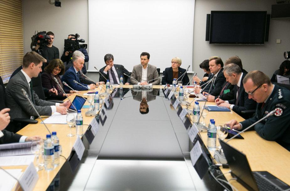 Seimo Savižudybių ir smurto prevencijos komisijos posėdis