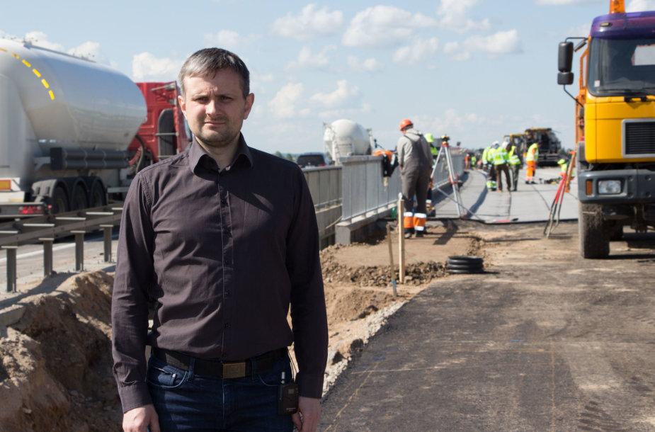 Egidijus Skrodenis, Lietuvos automobilių kelių direkcijos direktorius