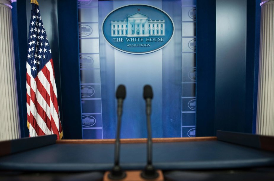 Žurnalistai Baltuosiuose Rūmuose