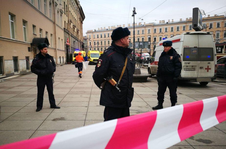 Sprogimas Sankt Peterburge