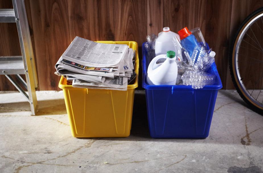 Ar tikrai taip sudėtinga paprastai ir patogiai rūšiuoti atliekas namuose?