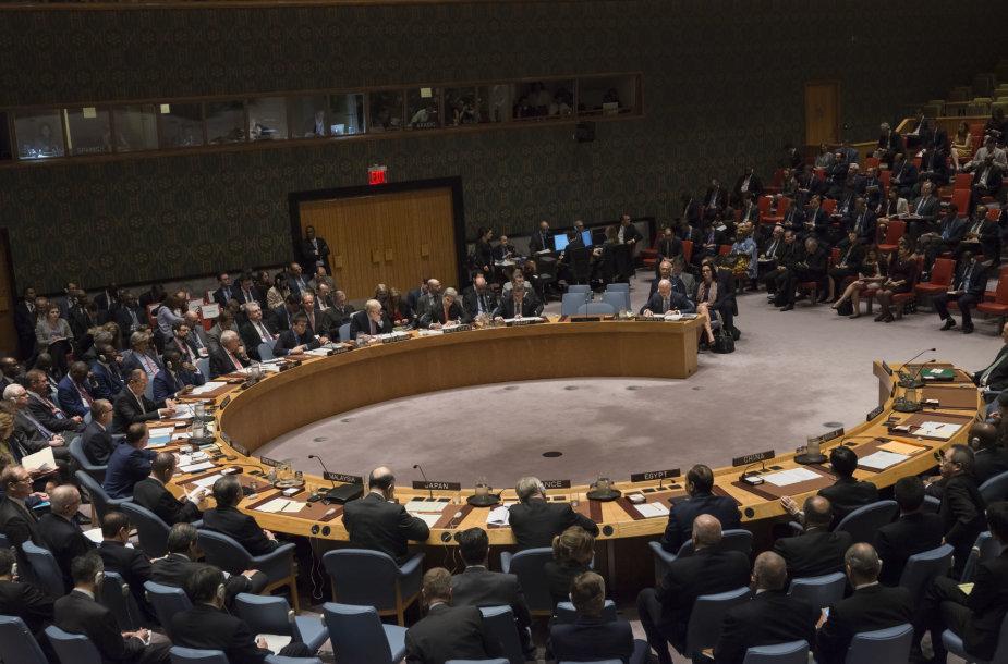 JT Saugumo Tarybos posėdis