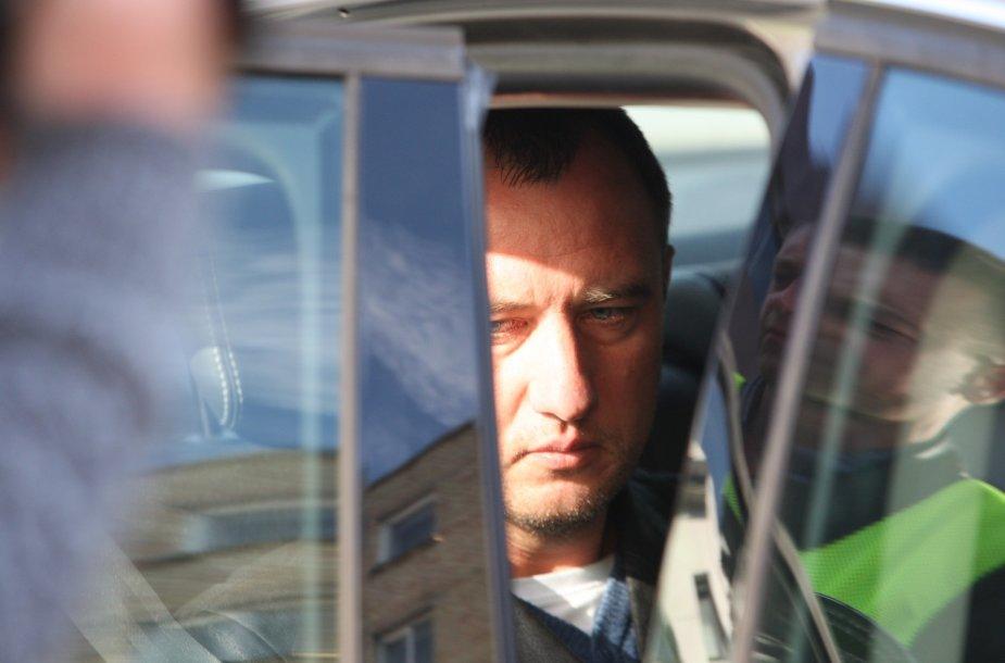 Šiaulių kriminalinės policijos pareigūnas Andrius Ančiulis suimtas šešioms dienoms