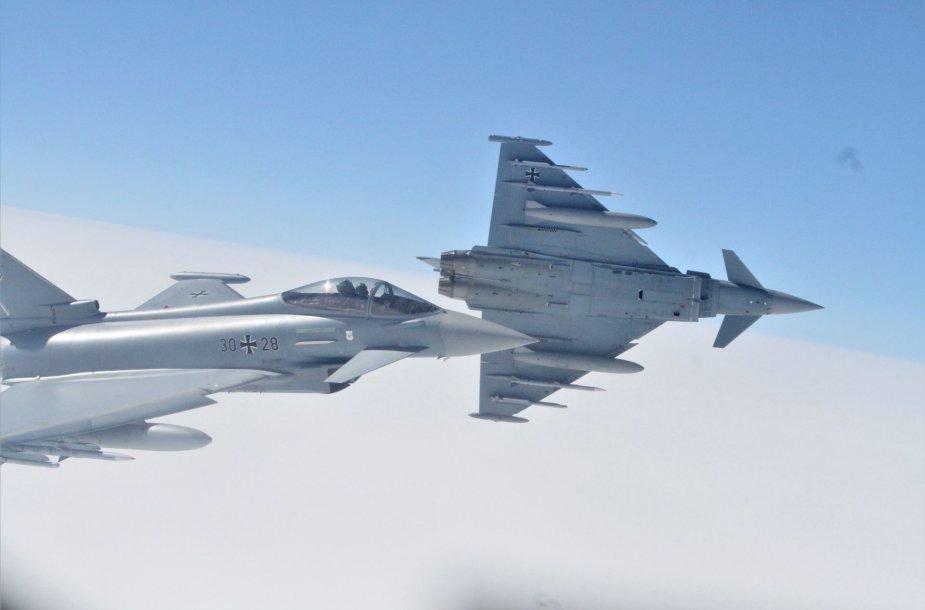 "NATO oro pajėgų pratybos ""Ramstein Alloy"""