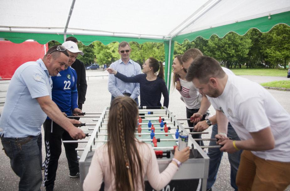 Labdaringas stalo futbolo turnyras