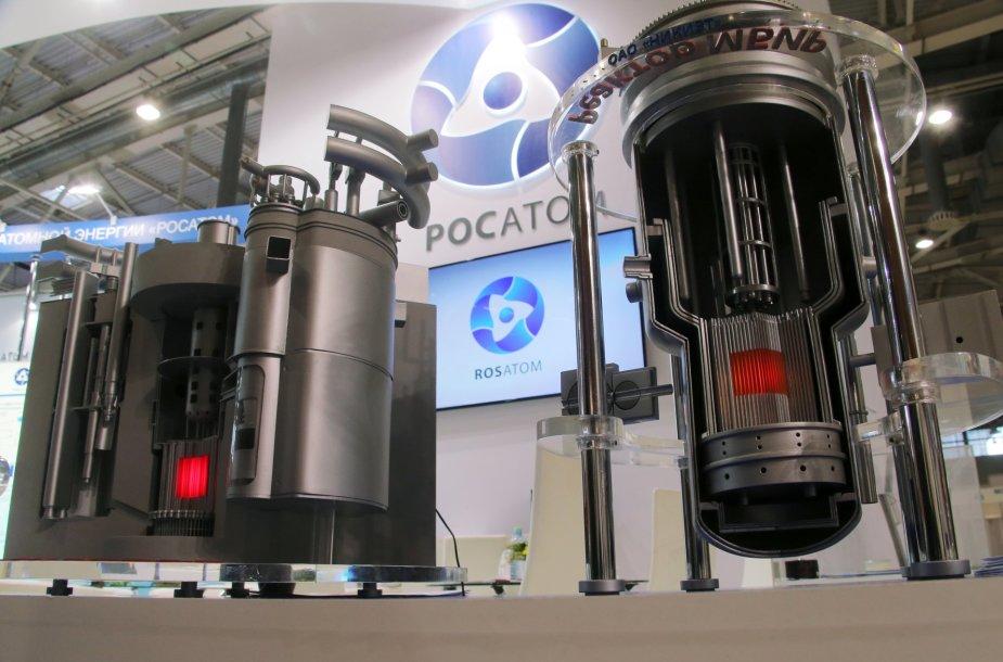 """""""Rosatom"""" branduoliniai reaktoriai parodoje Maskvoje"""