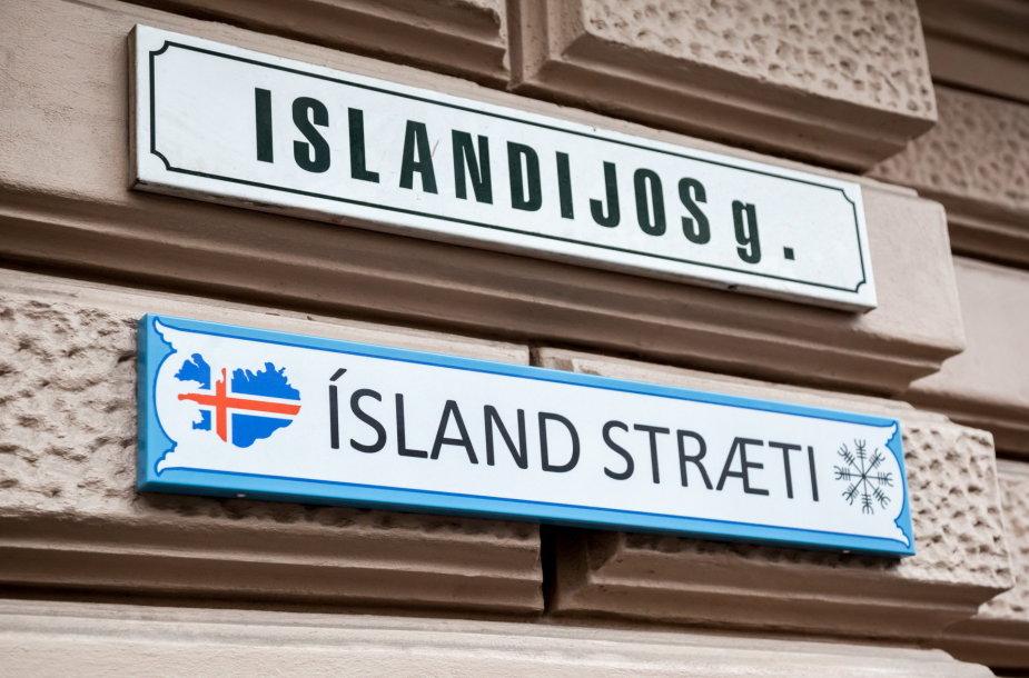 Islandijos gatvė