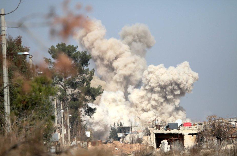 Antskrydžiai Sirijoje