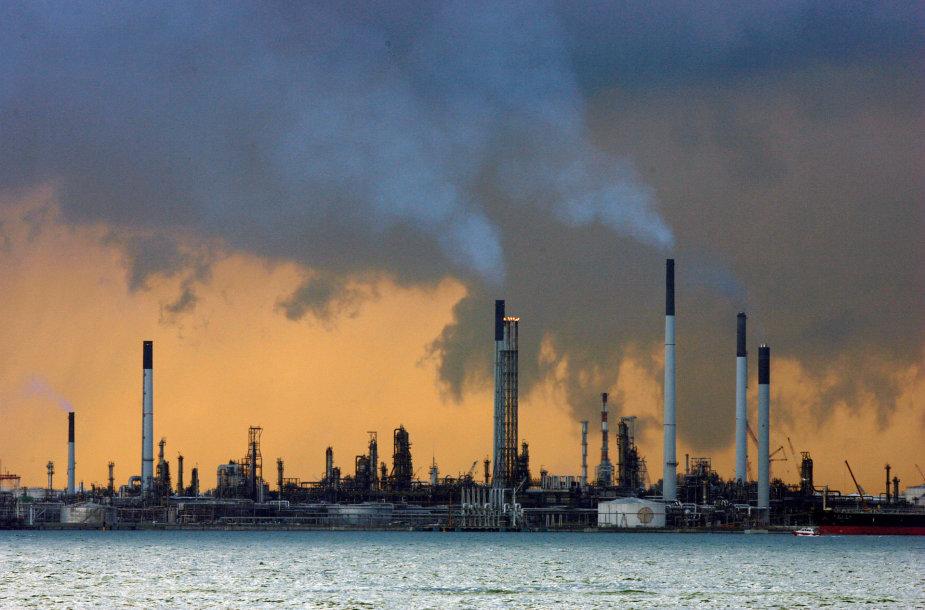 Naftos perdirbimo gamykla Singapūre