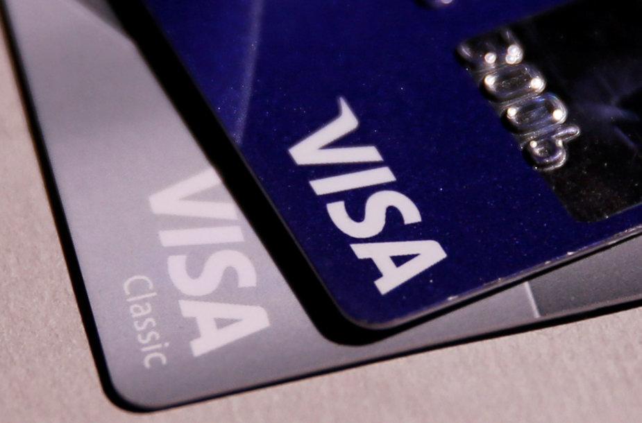 """""""Visa"""" mokėjimo kortelės"""