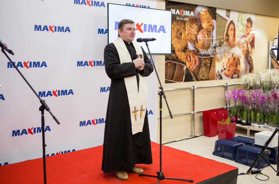 """Naujo """"Maxima"""" prekybos centro Vilniaus Naujamiestyje atidarymas"""