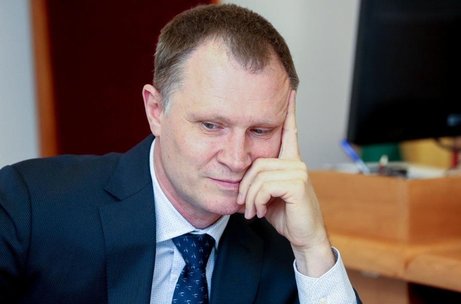 Pulkininkas Audronis Navickas