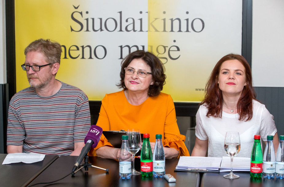 """Šiuolaikinio meno mugės """"Art Vilnius '17"""" pristatymo spaudos konferencija"""