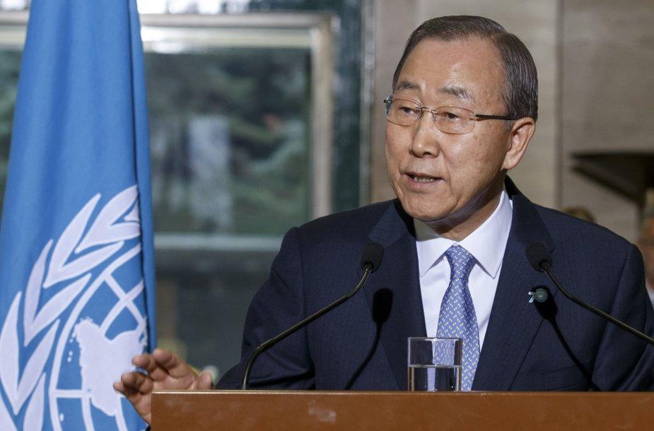 40. JT generalinis sekretorius Ban Ki-moonas