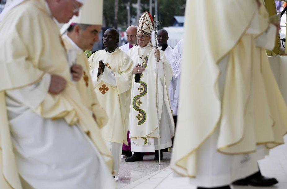 Popiežiaus vizitas Kenijoje
