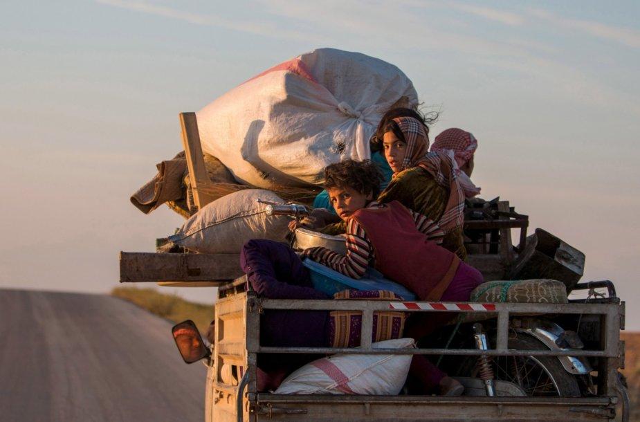 Pabėgėliai iš Sirijos