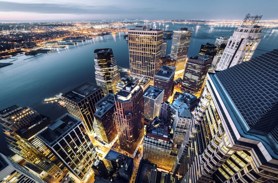 Niujorkas iš dangoraižių viršūnių
