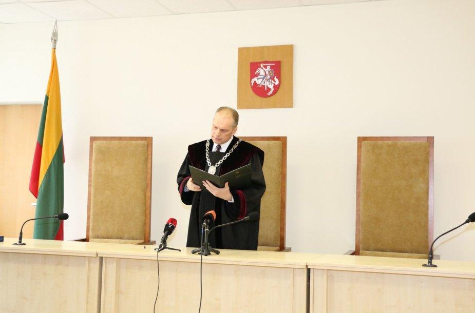 Skelbiamas Aukščiausiojo Teismo nuosprendis S.Drėlingui
