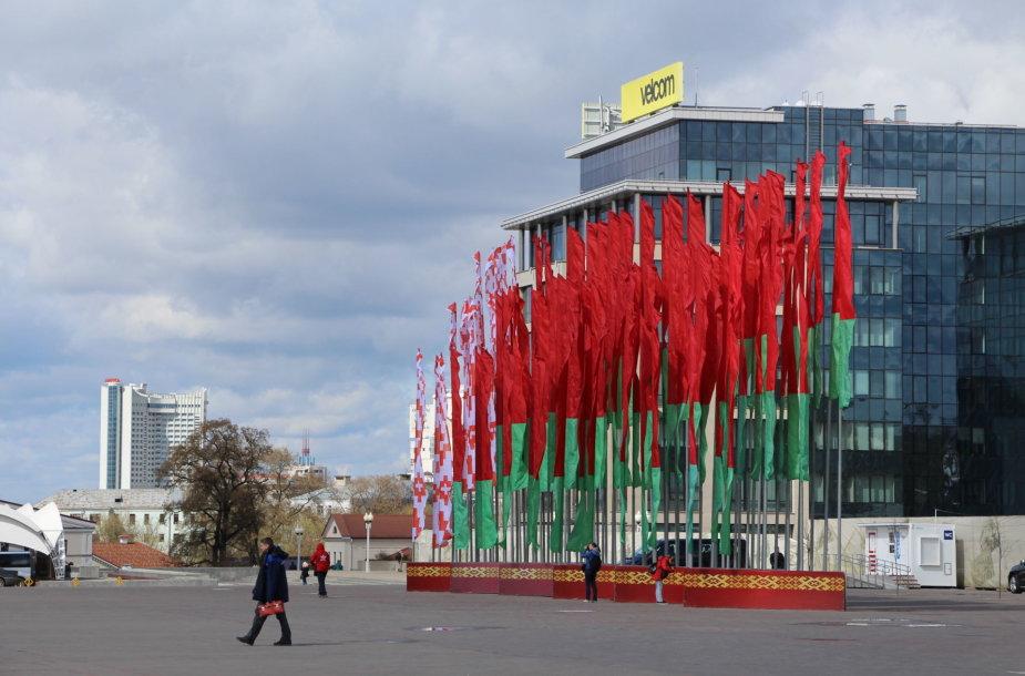 Minskas, gegužės 9