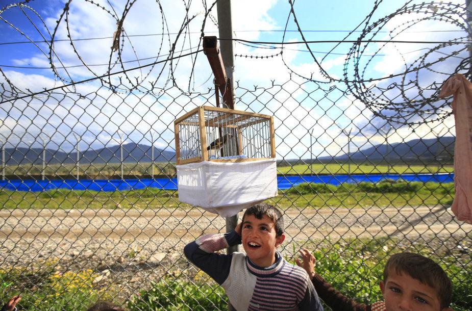 Siena tarp Sirijos ir Turkijos.