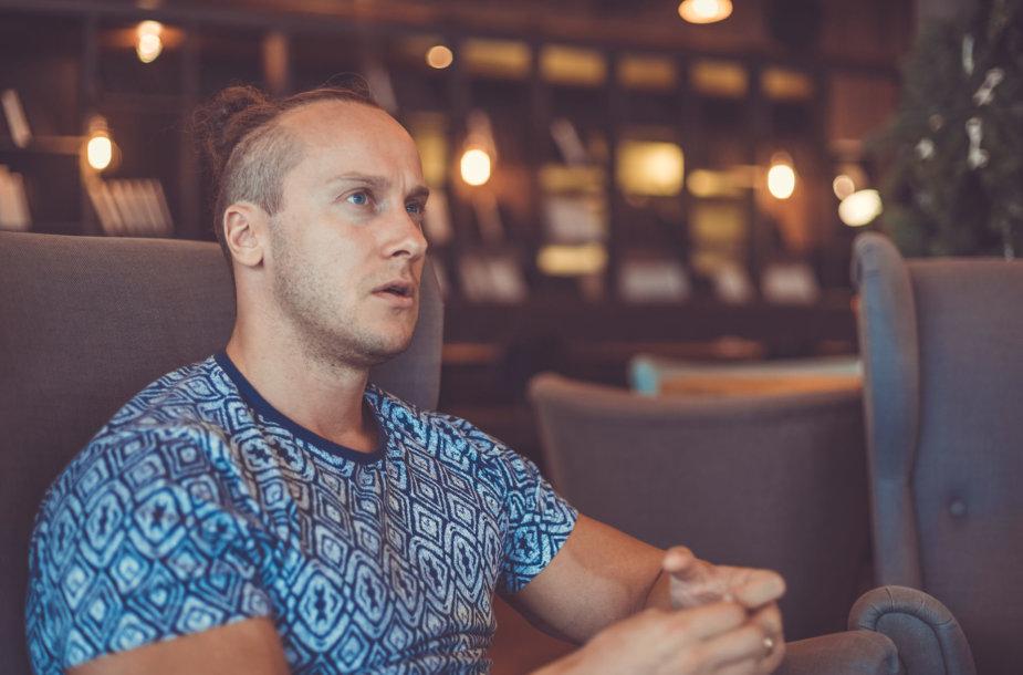 Andrius Pauliukevičius pasakoja apie savo keliones į Namibiją