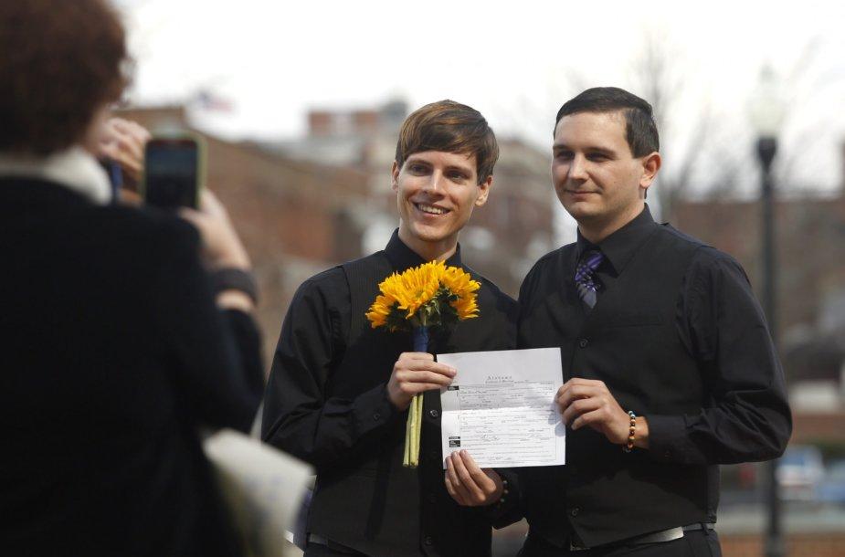 Tos pačios lyties asmenų santuoka.