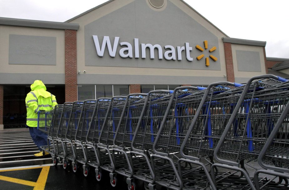 """""""Walmart"""" prekybos centras Rod Ailande"""