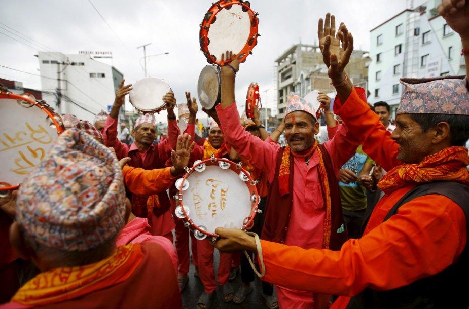 Protestai Nepale
